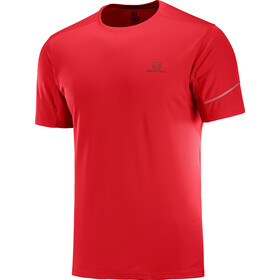 Salomon Agile T-shirt Heren, goji berry